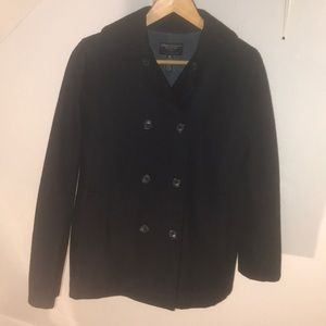 XS American Eagle outfitters wool stylish pea coat